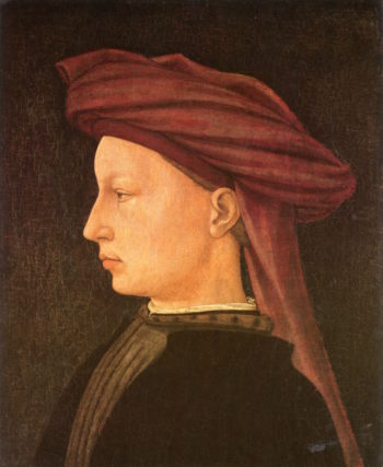 Profile Portrait of a Young Man | Masaccio | oil painting