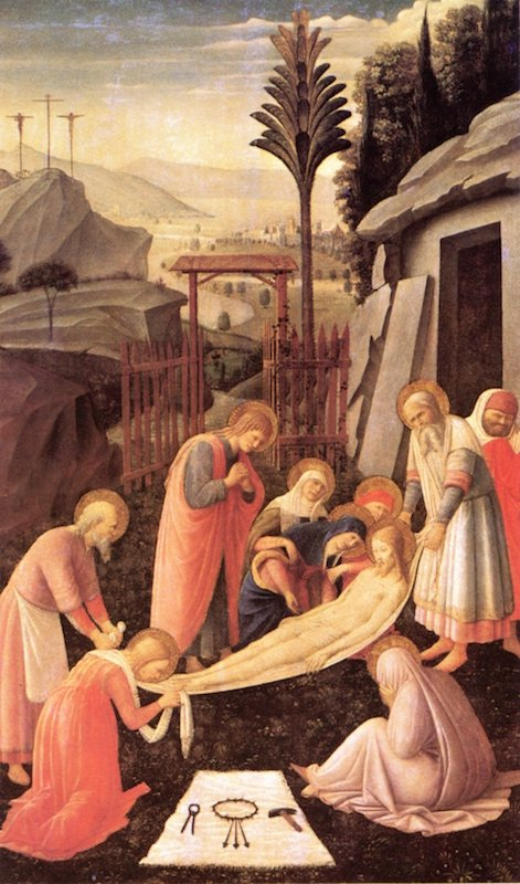 The Enbombment | Fra Angelico | oil painting