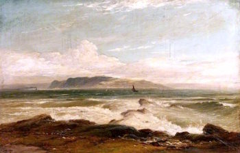 The Little Cumbrae from Corrie
