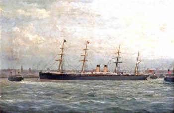 Germanic in the Mersey | George Parker Greenwood | oil painting