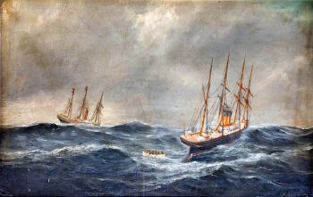 Germanic Rescuing the Crew of Hurworth
