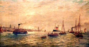 Shipping in the Mersey
