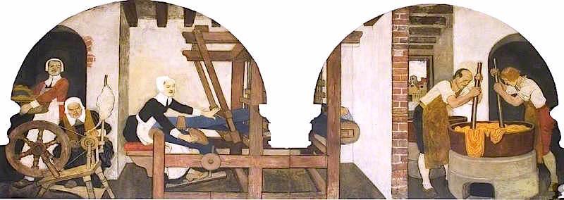 Huguenots Spinning