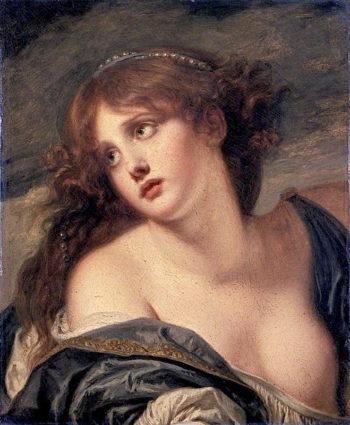 Psyche | Jean-Baptiste Greuze | oil painting