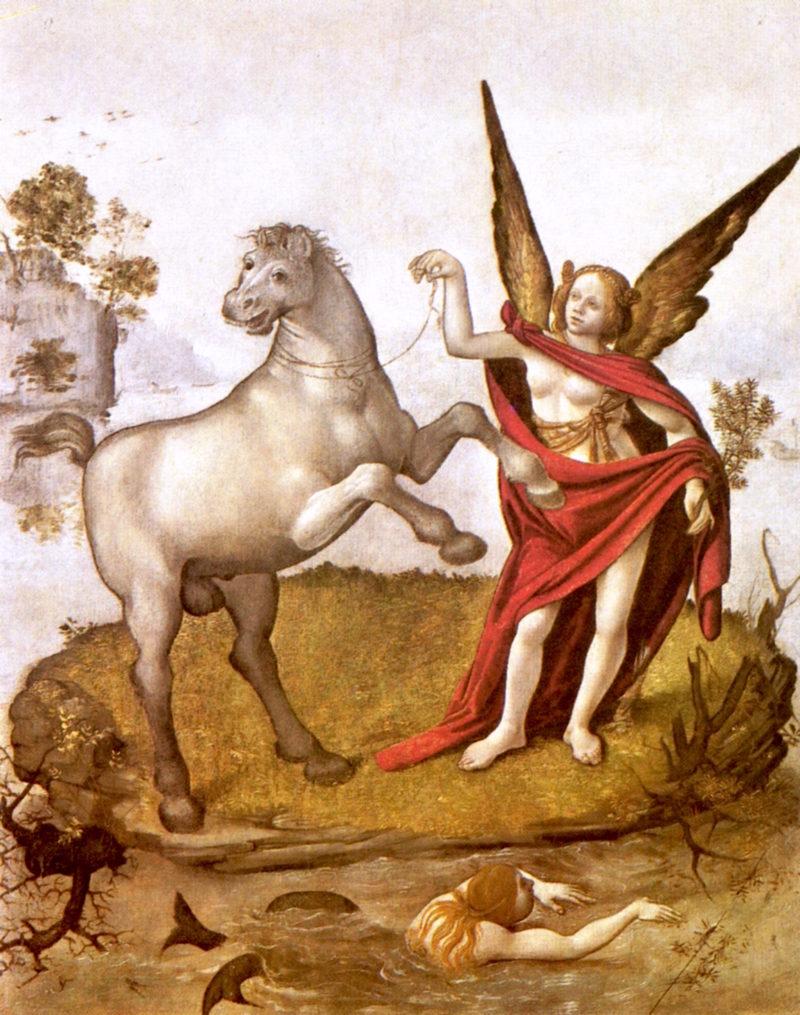 Allegory   Piero di Cosimo   oil painting