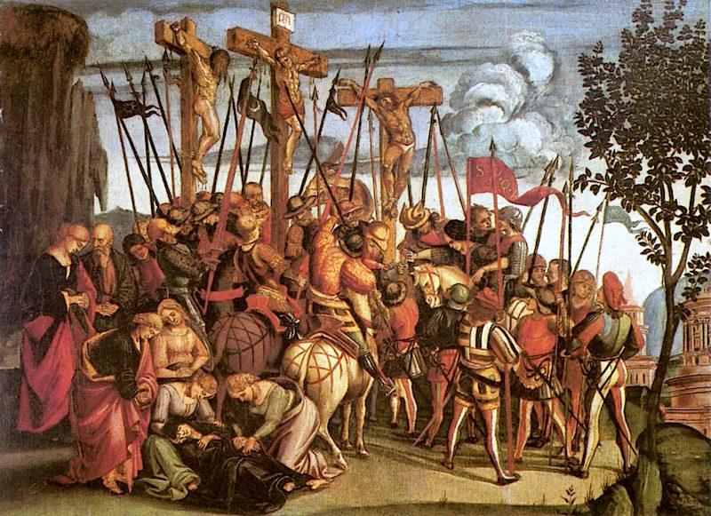 Calvary   Luca Signorelli   oil painting