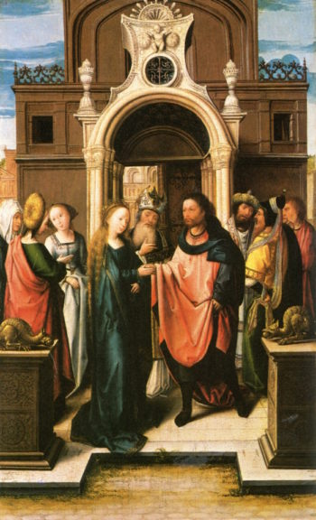The Marriage of the Virgin | Barend van Orley | oil painting