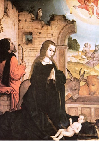 The Nativity | Juan de Flandes | oil painting