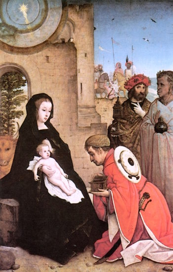 The Adoration of the Magi | Juan de Flandes | oil painting