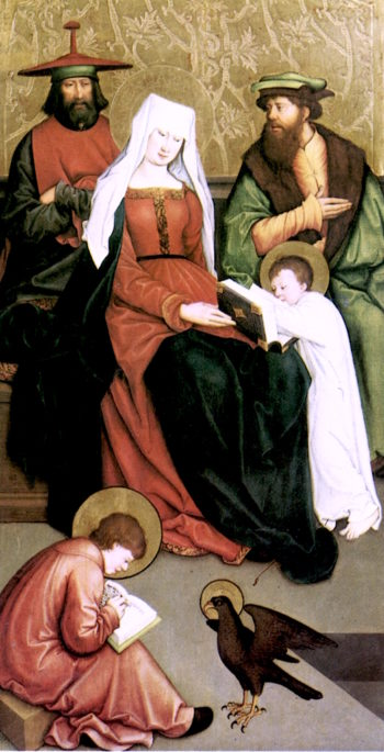 Saint Mary Salome and Her Family   Bernhard Strigel   oil painting