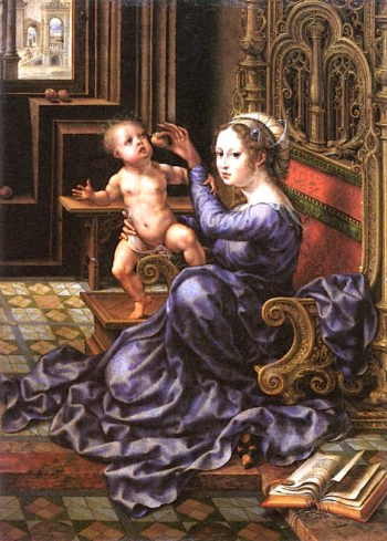 Madonna and Child | Jan Gossaert | oil painting