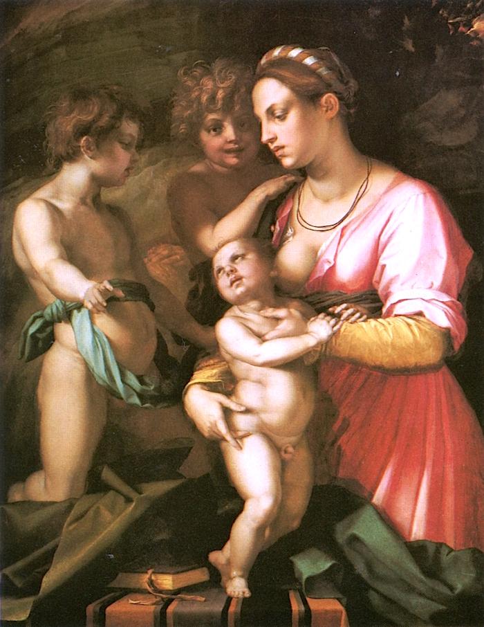 Charity | Andrea del Sarto | oil painting
