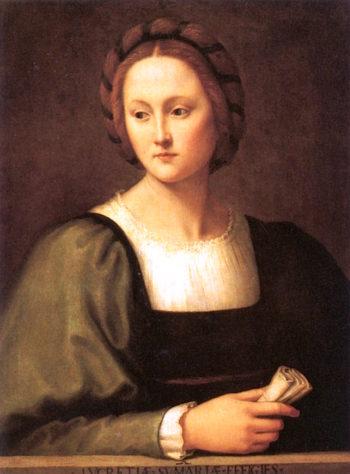 Lucrezia Sommaria | Ridolfo Ghirlandaio | oil painting