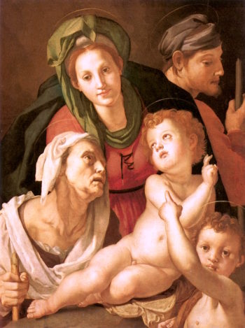 The Holy Family | Pontormo | oil painting