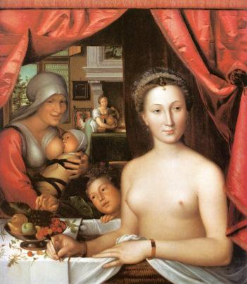 Diane de Poitners | Fran?ois Clouet | oil painting