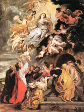The Assumption of the Virgin | Peter Paul Rubens | oil painting
