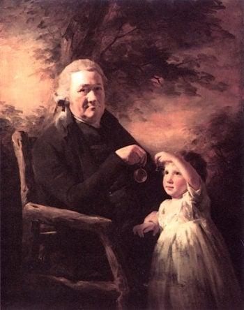 John Tait and His Grandson   Sir Henry Raeburn