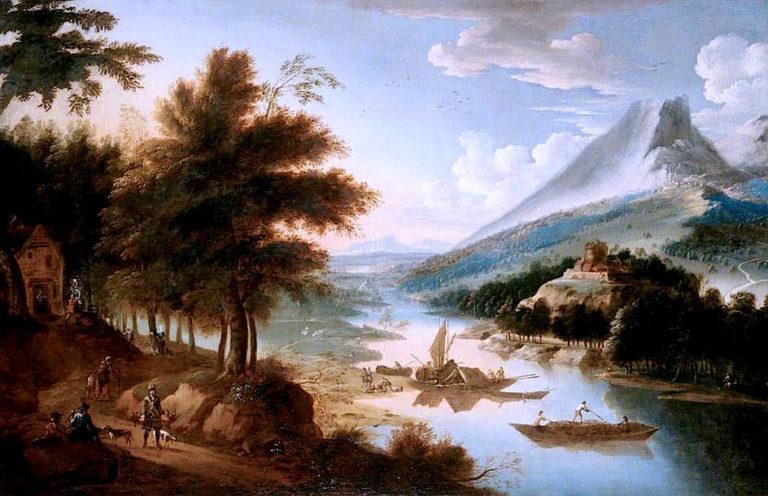 Landscape | Jan Griffier | oil painting