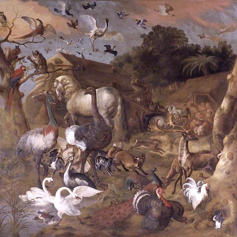 Noahs Ark | Jan Griffier | oil painting
