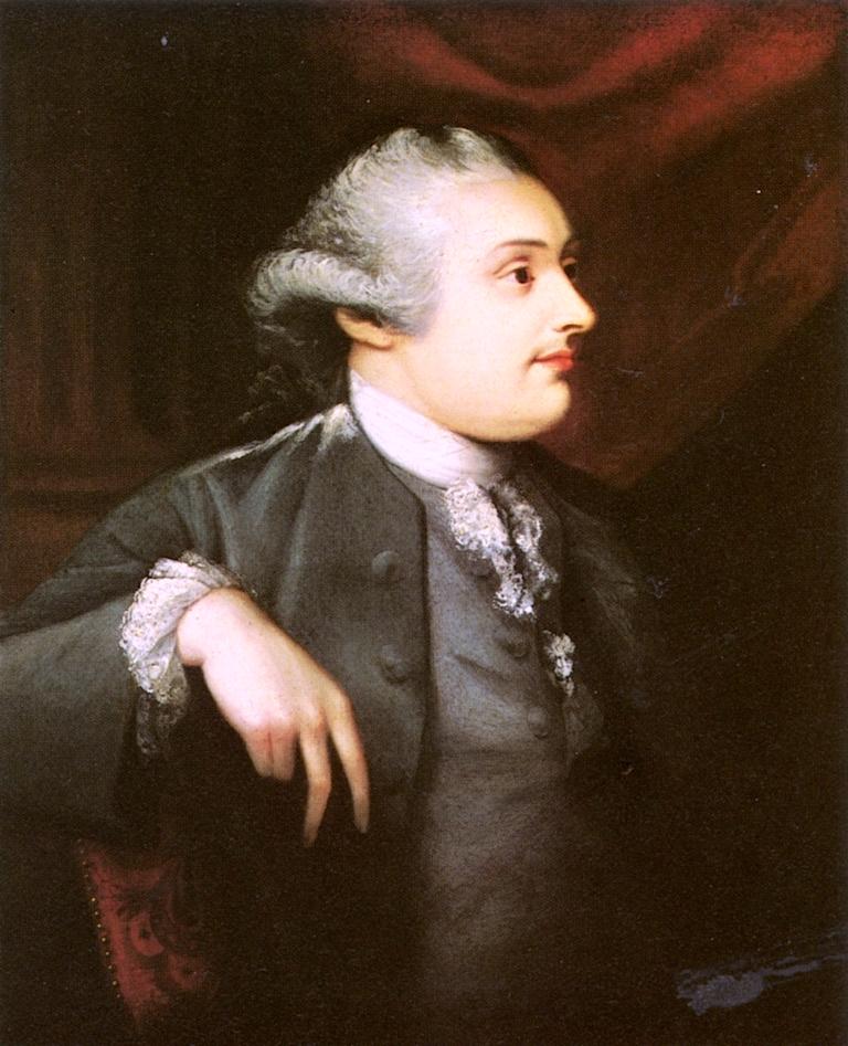 The Duke of Portland   Matthew Pratt   oil painting