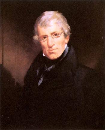 Thomas W. Dyott   John Neagle   oil painting