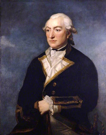 Captain Sir Richard Pearson | Charles Grignion II | oil painting