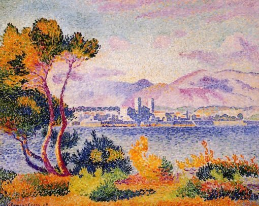 Antibes, Afternoon 1908 | Henri Edmond Cross