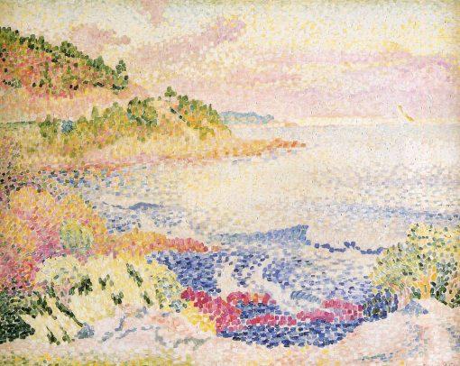 Coast of Provence, Le Four des Maures 1906 1907   Henri Edmond Cross