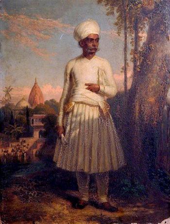 Samuldass Dessaye of Neriad in Guzerat | Robert Melville Grindlay | oil painting