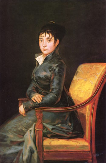 Doña Teresa Sureda | Francisco de Goya y Lucientes | oil painting