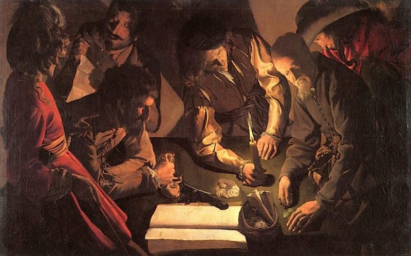 The Payment of Taxes | Georges de La Tour | oil painting