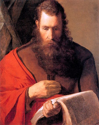 Saint Andrew | Georges de La Tour | oil painting