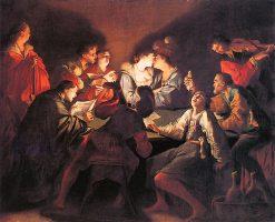 Nocturnal Concert | Jean LeClerc | oil painting