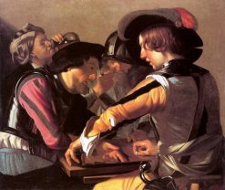 The Backgammon Players | Dirck van Baburen | oil painting