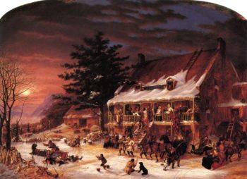 Merrymaking | Cornelius Krieghoff | oil painting