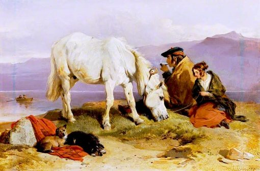 A Highland Scene | Sir Edwin Landseer | oil painting