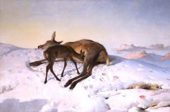 A Random Shot | Sir Edwin Landseer | oil painting