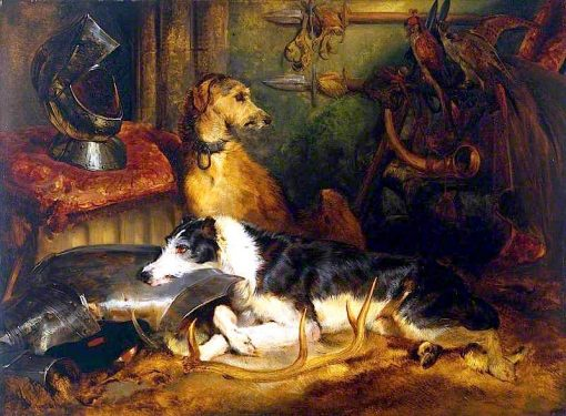A Scene at Abbotsford | Sir Edwin Landseer | oil painting