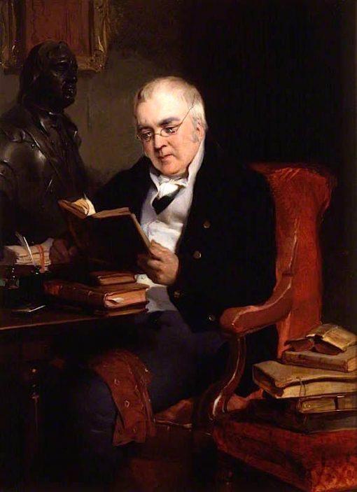 John Allen   Sir Edwin Landseer   oil painting