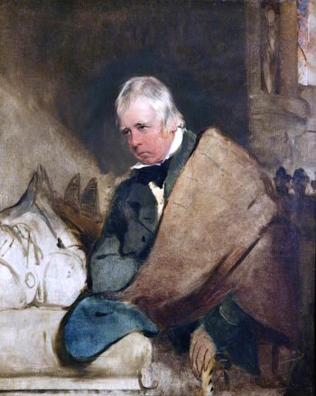 Sir Walter Scott | Sir Edwin Landseer | oil painting
