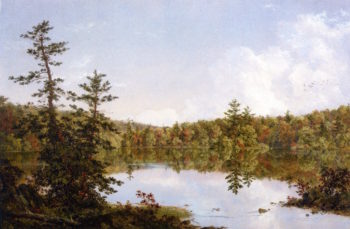Autumn | Frederic Edwin Church | oil painting