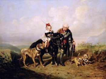 The Young Laird | Sir Edwin Landseer | oil painting