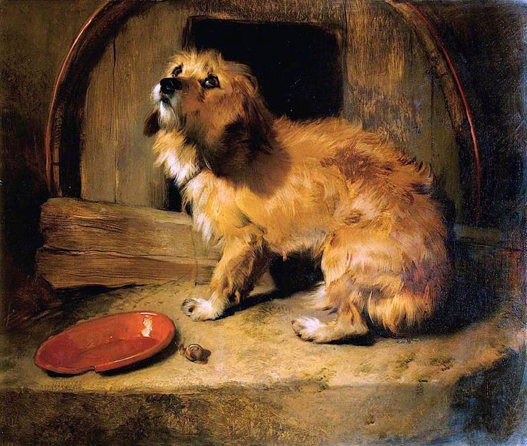 Theres No Place Like Home | Sir Edwin Landseer | oil painting