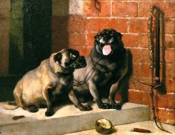 Uncle Tom | Sir Edwin Landseer | oil painting