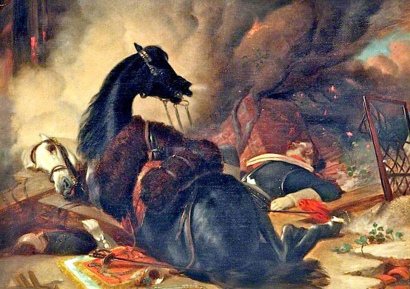 War   Sir Edwin Landseer   oil painting
