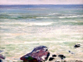 A Rough Sea | Sir John Lavery