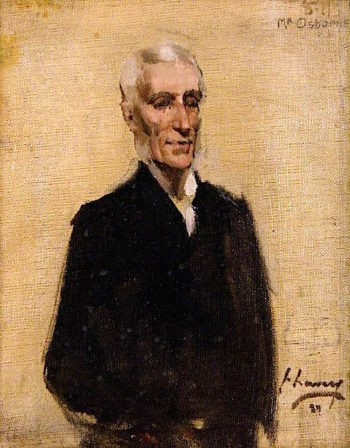 Alexander Osborne (sketch) | Sir John Lavery