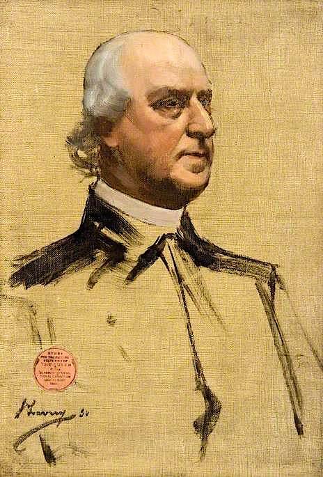 Archbishop Eyre (sketch) | Sir John Lavery