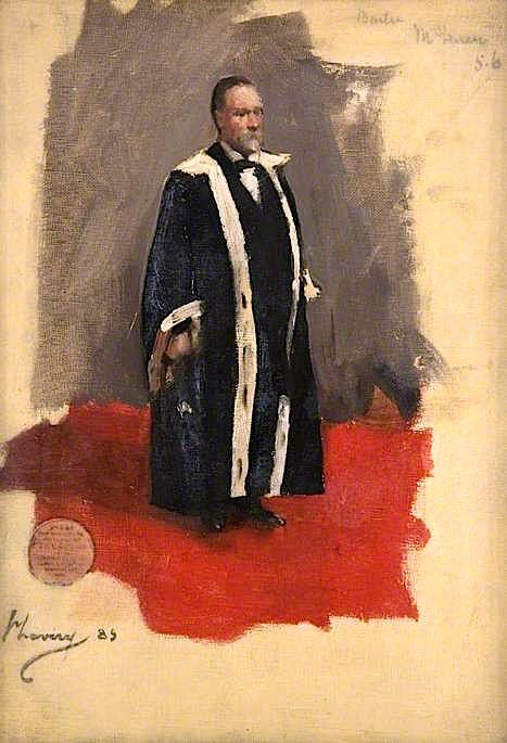 Bailie MacLaren (sketch)   Sir John Lavery