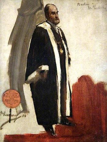 Bailie McLennan (sketch) | Sir John Lavery